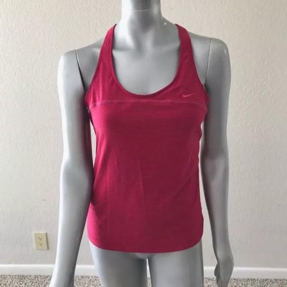 Nike Woman Sport Tank Top Athletic Workout Sz L